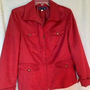 Evan-Picone Women's Size 10 Red Blazer